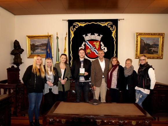 Receção Estudantes Suecos (2)