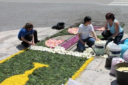 Tapetes Flores Corpo Deus Coura 2013 E