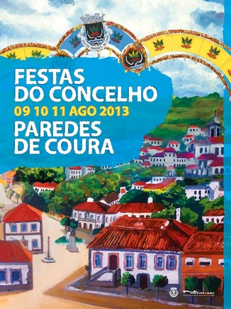 Cartaz Festas Concelho Coura 2013 1