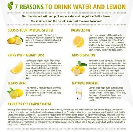 agua limão