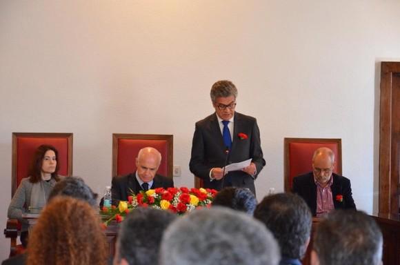 Sessão solene evocativa do 25 de Abril em Cabecei
