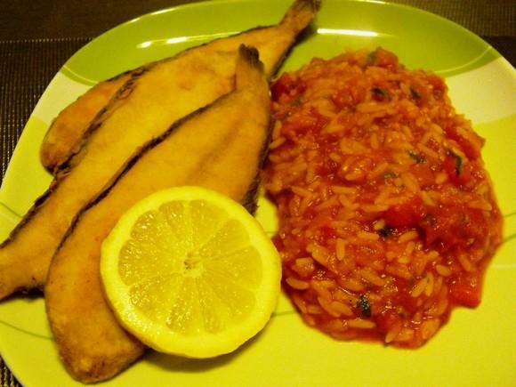 arroz tomate com linguados.JPG