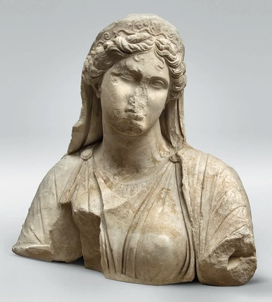 Upper Body of a Queen   Hellenistic period, second