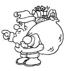 dibujos para colorear de navidad papa noel 1.jog.j