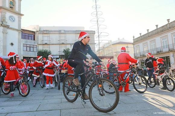 Passeio Pai Natal em Bicicleta 1