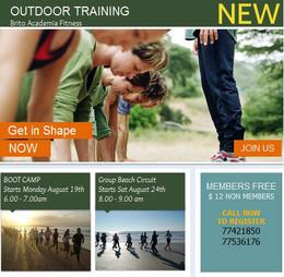 Brito Academia Fitness Outdoor