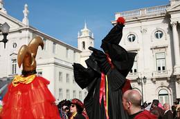 Desfile colorido
