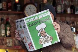 1.ª edição Charlie Hebdo, depois do atentado