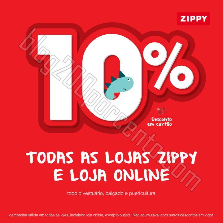 Antevisão 10% de desconto ZIPPY de 29 janeiro a 1