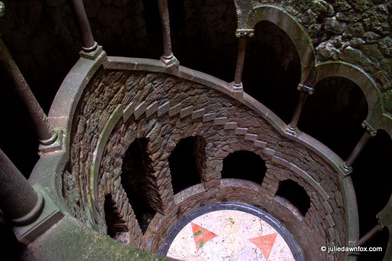 Inverted-well-staircase-Quinta-da-Regaleira-Sintra