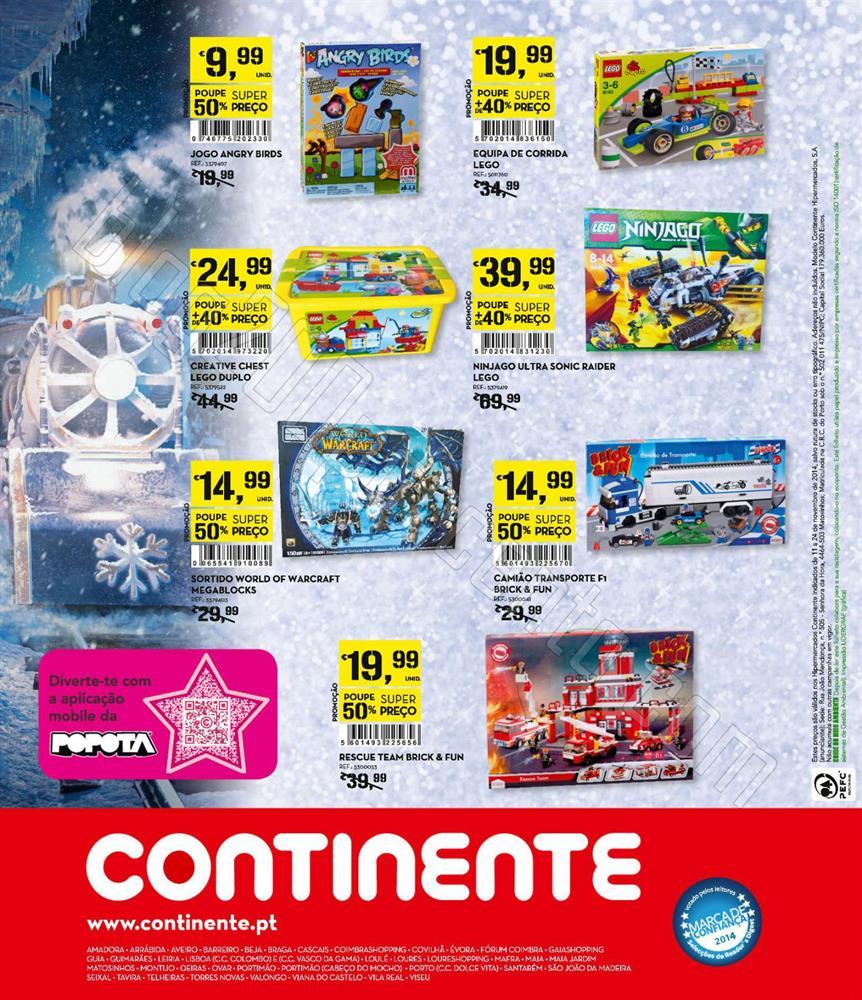 Antevisão Folheto CONTINENTE de 11 a 24 novembro