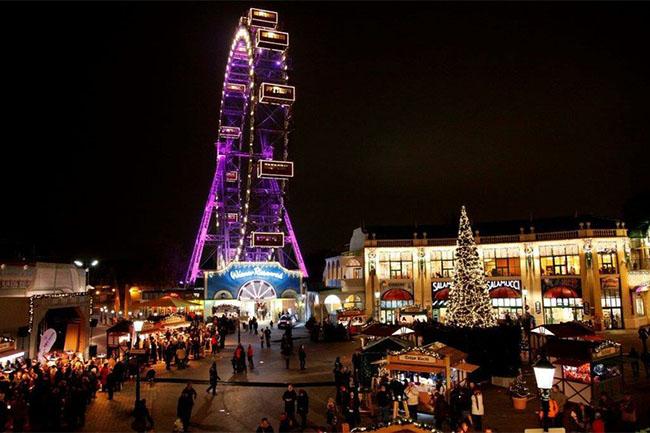 wintermarkt am Riesenradplatz