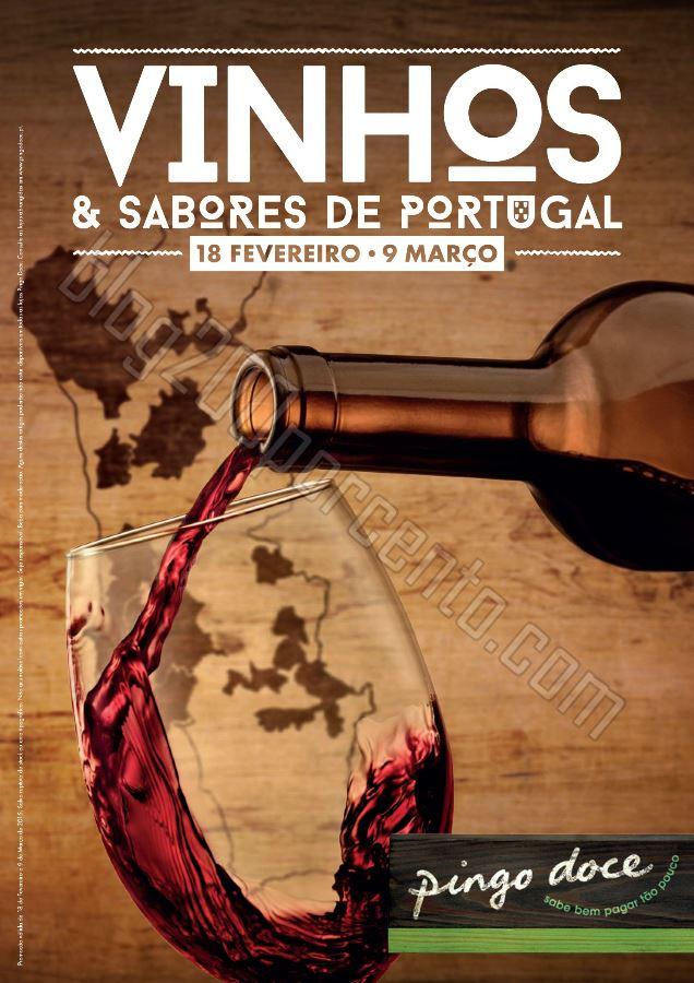 Novo Folheto PINGO DOCE Sabores de Portugal de 18