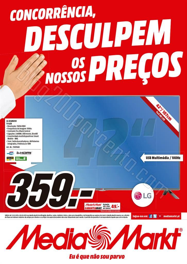 Antevisão Folheto MEDIA MARKT Centro de 12 a 18 m
