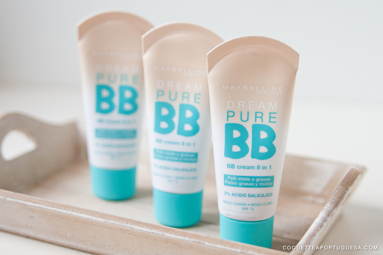 bb cream dream pure maybelline portugal review res