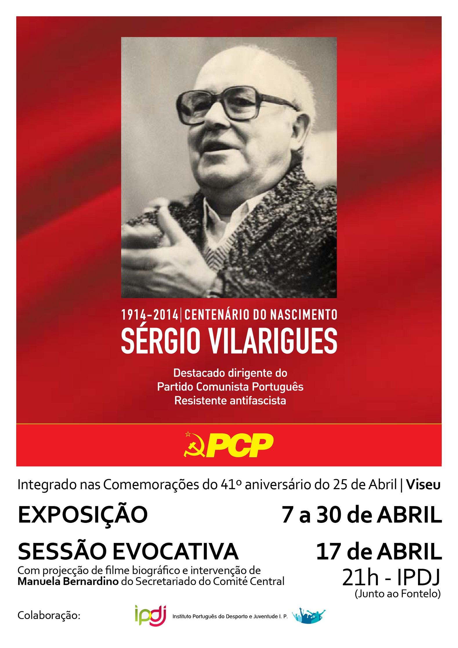 Cartaz_Sergio Vilarigues Viseu