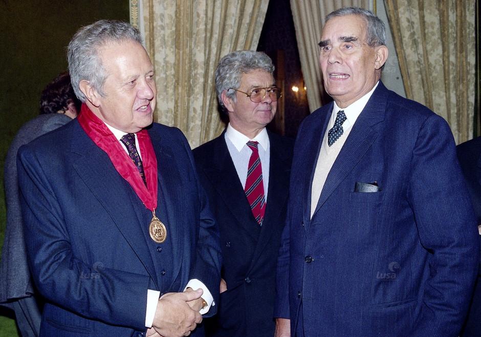 Portugal Presidente Mário Soares Recebe Advogados